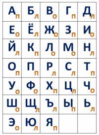 НЕЙРОТРЕНАЖЕР «АЛФАВИТ»